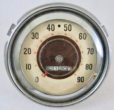 """1940 Studebaker Champion """"Pinwheel"""" Speedometer"""