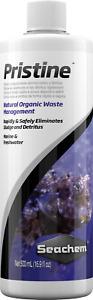 Seachem Pristine 500ml Aquarium Fish Rapid Waste & Detritus Sludge Treatment