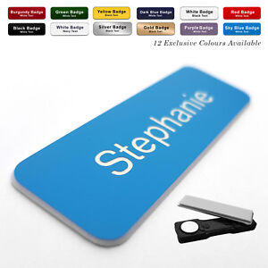MAGNET Personalised Engraved Staff Name Badges Trainee Apprentice Solicitor