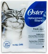 Oster Fresh Sips Cat Fountain Replacement Filters