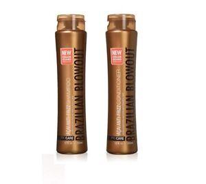 Brazilian Blowout Acai Anti-Frizz Shampoo and Conditioner DUO 12 oz NEW Stock
