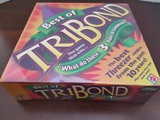 Mattel TriBond Jr. Board Game Kids Game Asks What Do These 3 Have in Common?