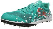 PUMA Women's (Pool Green/ White) Cross Fox XCS Track Running Shoes Light 6.5
