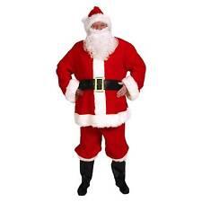 Complete Santa Suit Adult Costume Fancy Dress Australian SELLER Standard Red