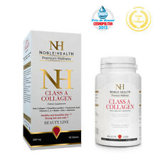 Noble Health Class A Fish Collagen 90 Tablets Hyaluronic Acid Vitamin C,E Biotin