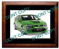 2008 FORD FPV GT (GREEN) LARGE A3 PHOTO 2