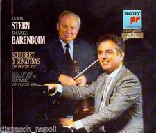 Schubert: 3 Sonatine Op.137, Duo Op. 162, Rondo' Op. 7o / Barenboim, Stern - CD