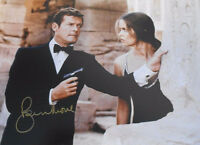 "ROGER MOORE ""JAMES BOND 007""   ""QUALITY 8 X 12  PHOTO""  COA Provided"
