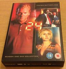 24 Season One 1 DVD (Region 2) Keifer Sutherland