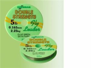 Drennan Fly Leader Double Strength Line All Sizes Coarse Match Fishing