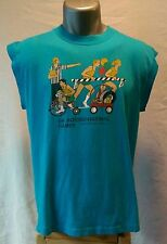 RARE 1984 LS&CO (Levi Strauss & Co. ) employee Olympics muscle shirt Size Large