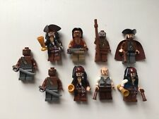 Lego Pirates Of The Caribbean Minifigures # 2 Lot of 9 Sets 4195 4194 4191 4193