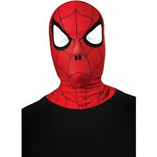 Spider-Man Child Mask Rubies Marvel Head and Neck Hood Cosplay Halloween Face