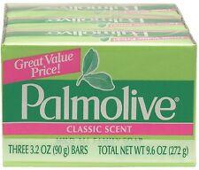 Palmolive Bath Bar Soap, Classic Scent 3.20 oz, 3 ea