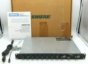 Shure AMS8100 Automatic Mixer With Directional Intellimix Processing