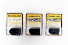 """Pearce Grip PG26XL Mag Pistol Extension 1/4"""" Longer For Glock Models 26 27 LOT 3"""