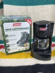 Vintage NEW Coleman Camping Drip Coffee Maker NOS w original box!!