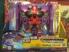 Transformers Cyberverse Power of the Spark Ultra Laser Beam Blast Alpha Trion