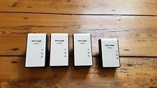 4x TP-Link AV500/200 Gigabit Powerline Adapter