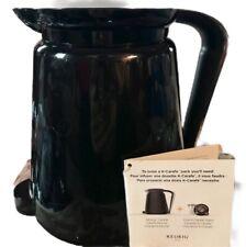 KEURIG 2.0 Black COFFEE INSULATED POT 4-6 Cup K CARAFE NEW No Original Box