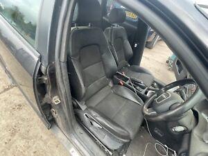Audi A3 8P S-LINE 5DR Half Leather Half Cloth Interior Seats front & rear
