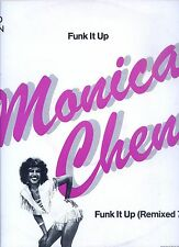 MONICA CHEN funk it up 12INCH 45 RPM HOLLAND EX 1983