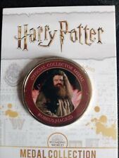NEW Official Harry Potter Medal, RUBEUS HAGRIRD.