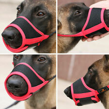 More details for adjustable breathable safety dog muzzles anti-biting anti-barking anti-chewing
