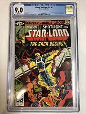 Marvel Spotlight V2 (1980) #6 (CGC 9.0 WP)   1st App Star-Lord (Peter Quill)