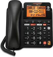 AT&T CD4930 Corded Phone With Answering System and Caller ID - Black