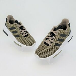 Adidas Cloudfoam Racer TR K Youth Olive Green Running Shoes Size 13.5K AQ1678