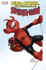 SPIDER-HAM 1 of 5 1:50 INHYUK LEE VARIANT PETER PORKER SPIDERMAN NM IN-HYUK