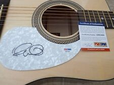 Elvis Costello IP Signed Autographed Acoustic Guitar PSA Certified