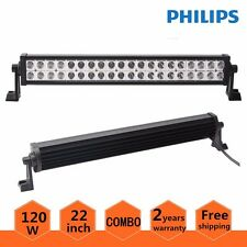 """Philips 22inch LED Light Bar Offroad 120W Ford 4WD SUV Combo Driving Lamp 20/24"""""""