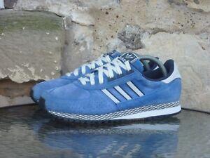 2013 Adidas City Marathon PT  UK8 / US8.5 Originals Blue White Suede Runners
