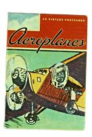 Aeroplanes 30 reproduction vintage postcards airplanes 2004 Wischmann 1920's O