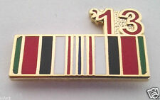 ENDURING FREEDOM 13 AFGHANISTAN RIBBON  Military Veteran Hat Pin P12310 EE