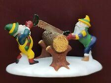 Department 56 North Pole Heritage Village- Woodsmen Elves #5630-8 New Retired