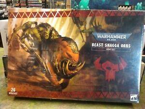 Warhammer 40k Beast Snagga Orks Army Set BNIB