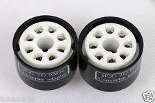 1pc 6E5C to EM34 adapter replace EM34 EM35 magic eye tube (shorter)22mm high