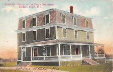 1911 Fresh Air Cottage of King's Daughters Oakland Beach RI post card