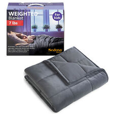 "Weighted Blanket for Kids 7lbs,Dark Gray, 41""x60"""