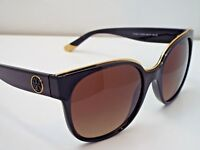 Authentic Tory Burch TY 9042 1312T5 Black Brown Grdnt Polarized Sunglasses $330