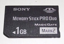 Sony 1GB Sony PSP Memory Stick Pro Duo Mark 2 Memory Card Camera Cybershot