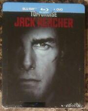 NEW Jack Reacher Blu-ray + DVD 2-Disc Steelbook Region Free French Import