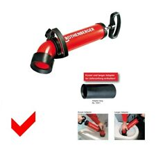 Rothenberger Saug- und Druckreiniger ROPUMP SUPER PLUS mit Kurz- und Langadapter