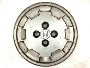 "1985 CRX, Civic Trim Wheel Disc Rim Cover Hub Cap Tire Beauty Garnish Hubcap 13"""