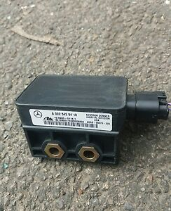 Mercedes ML320 Yaw Rate Esp Sensor: A0025429418