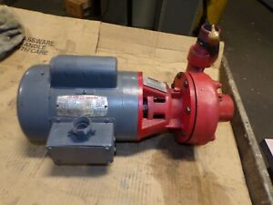 """ARMSTRONG 3/4 HP CENTRIFUGAL PUMP 1-1/4"""" X 1"""" SUCTION/DISCHARGE 115/208-230V 1PH"""