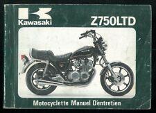 Manuel d'Entretien du Propriétaire KAWASAKI Z 750 LTD H1 1979/80 Français Manual